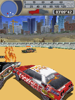 Screenshot: Crash Arena 3D