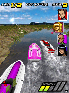 Screenshot: Powerboat Challenge