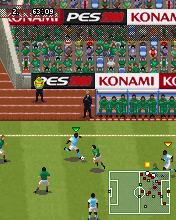 Screenshot: Pro Evolution Soccer 2009