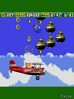 Screenshot: Sonic the Hedgehog 2: Crash!