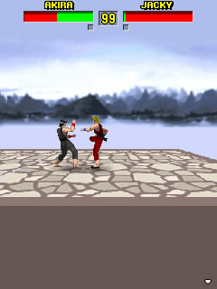 Screenshot: Virtua Fighter Mobile
