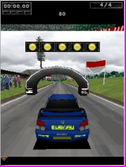 Screenshot: World Rally Championship