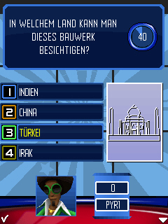 Screenshot: Buzz!: Das Handy Quiz