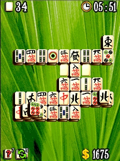 Screenshot: Sushi Mahjong