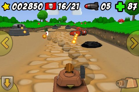 Screenshot: Toy Tanks 3D