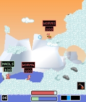 Screenshot: Worms 2007