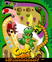 Screenshot: Croc Pinball