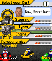 Screenshot: Paul Tracy Kart Racing