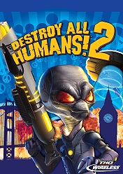 Screenshot: Destroy all Humans! 2