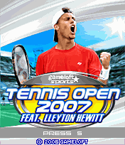 Screenshot: Tennis Open 2007 feat. Lleyton Hewitt
