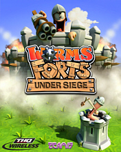 Screenshot: Worms Forts