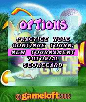 Screenshot: Rayman Golf