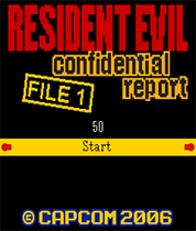 Screenshot: Resident Evil - Confidential Report