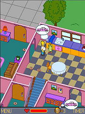 Screenshot: The Simpsons - Kernschmelze