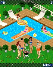 Screenshot: Bikini Pool Battle