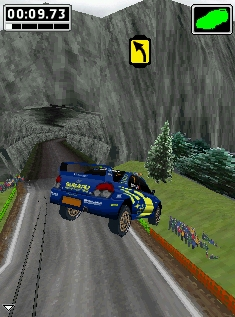 Screenshot: World Rally Championship 3D