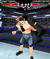 Screenshot: WWE Smackdown vs. Raw 2008