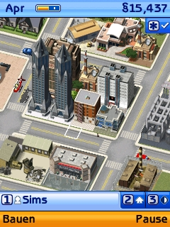 Screenshot: Sim City Societies