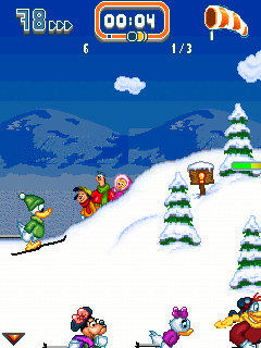 Screenshot: Disney Winter Games