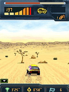 Screenshot: Dakar 2008