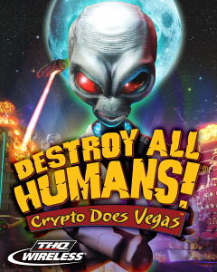 Screenshot: Destroy All Humans! Crypto Does Vegas