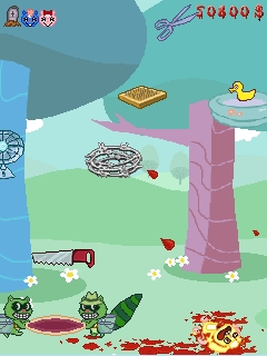 Screenshot: Happy Tree Friends: Blood Money