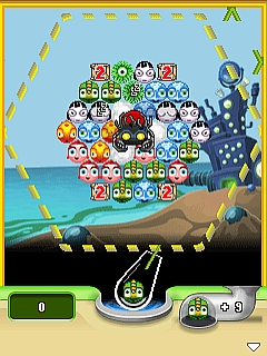 Screenshot: Bubble Town