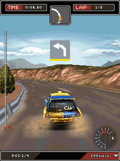 Screenshot: Colin McRae Dirt