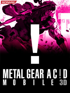Screenshot: Metal Gear Acid