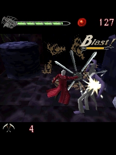 Screenshot: Devil May Cry 3D