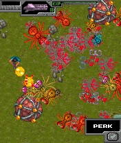 Screenshot: Crimsonland: Mobile Massacre