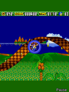 Screenshot: Sonic the Hedgehog 2: Dash!