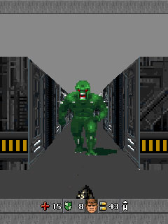 Screenshot: Doom RPG