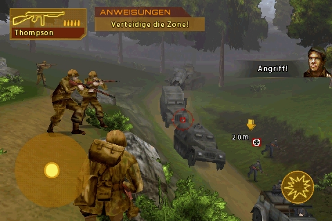 Screenshot: Brothers in Arms: Hour of Heroes