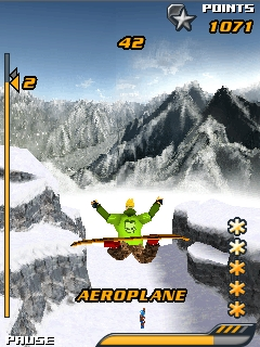 Screenshot: Snowboard Hero