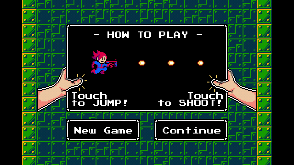 Screenshot: Jump'n Shoot Attack