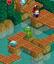 Screenshot: Croc Mobile - Jungle Rumble