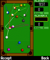 Screenshot: Real Billards